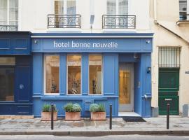Hôtel Bonne Nouvelle, hôtel à Paris