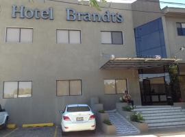 Hotel Brandts Ejecutivo Los Robles, hotell nära Augusto Cesar Sandino internationella flygplats - MGA, Managua