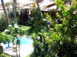 Butterfly House, hotel with pools in Flecheiras