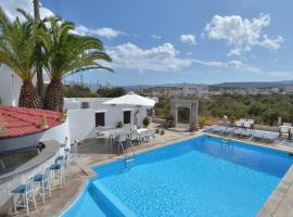 Manos Apartments, hotel in Agios Nikolaos