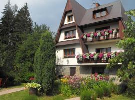 Pensjonat Za Borem, homestay in Zubrzyca Górna