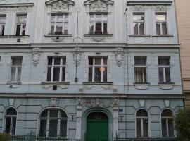 Apartment Smeralova, hotel near PVA Expo Praha, Prague
