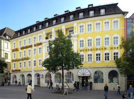 Hotel Würzburger Hof ****, hotel in Würzburg