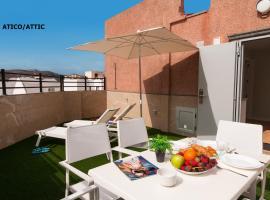 Hotel Apartamento Bajamar, serviced apartment in Las Palmas de Gran Canaria