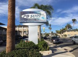 PB Surf Beachside Inn, motel in San Diego
