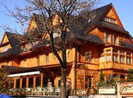 Hotel Sabała, hotel near Kasprowy Wierch Mountain, Zakopane