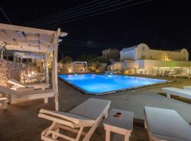 Odysseas Hotel, hotel in Perivolos