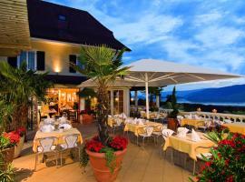 Restaurant-Hotel Seeblick, hôtel à Mörigen près de: Congress Centre Biel