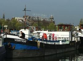 MS Vertigo, B&B in Amsterdam