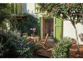Les Jasmins, pet-friendly hotel in Collioure