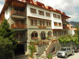 Hotel Apollon, hotel in Metsovo