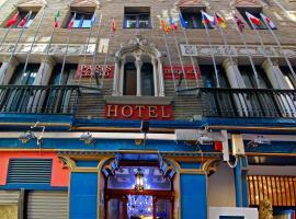 Hotel Paris Centro, hotel en Zaragoza