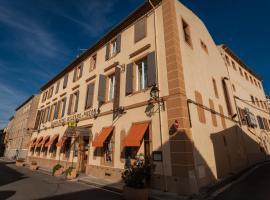 Logis Hotel Moderne Et Pigeon, hôtel à Limoux
