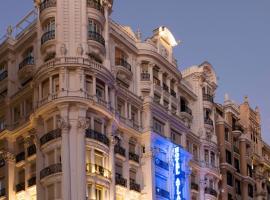 Hotel Atlántico, hotel cerca de Gran Vía, Madrid