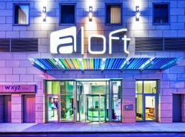 Aloft Manhattan Downtown - Financial District, hotel in New York