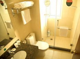 GreenTree Inn Taizhou East Meilan Road University Town Business Hotel、Taizhouのホテル