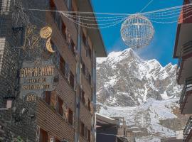 Hotel Da Compagnoni, hotel near Klein Matterhorn, Breuil-Cervinia