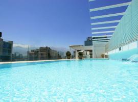 Alto Lyon Departamentos, hotel in Santiago