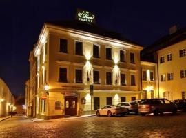 U Páva, hotel Prágában