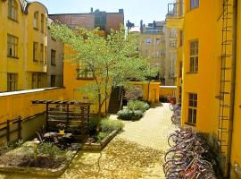 Citykoti Downtown Studios, hotelli Helsingissä
