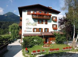 Hotel Diana, hotel ad Auronzo di Cadore