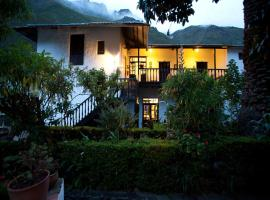 El Albergue Ollantaytambo, hotel in Ollantaytambo