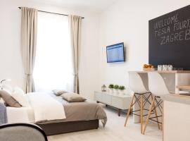 Tesla Boutique Apartments & Rooms, hotel in Zagreb