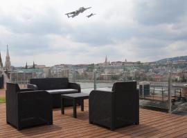 Parliament Penthouse Boutique B&b, casă de vacanță din Budapesta