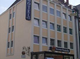 Hotel Regina, hotel en Darmstadt