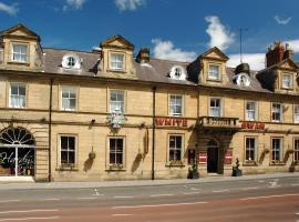 White Swan Hotel, hotel near Warkworth Castle, Alnwick
