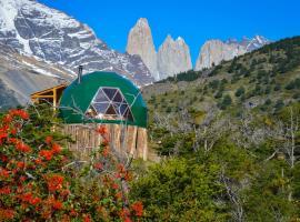 Ecocamp Patagonia, hotel en Torres del Paine