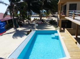 Alayna Ocean Views at The Club Caye Caulker, serviced apartment in Caye Caulker