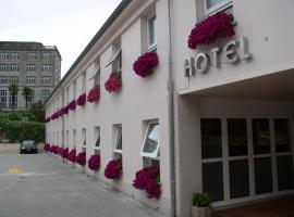 Hotel Miradoiro de Belvís, отель в городе Сантьяго-де-Компостела