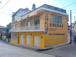 Hotel Arenas Familiar, hotel en Papantla de Olarte
