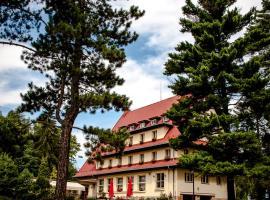 Parkhotel Skalní město, hotel v destinaci Jičín
