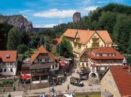 Amselgrundschlösschen, Hotel in Rathen