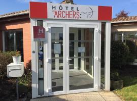Hôtel Les Archers, hôtel à Chambretaud