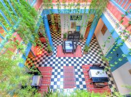 Les Matins Bleus, отель в Эс-Сувейра