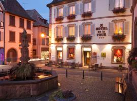 Hôtel De La Tour, hôtel à Ribeauvillé