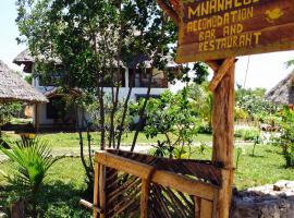Mnana Lodge, hotel in Kizimkazi