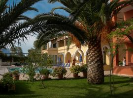 Katerina Pool Apartments, pet-friendly hotel in Acharavi