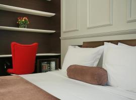 Belgreat Premium Suites: Belgrad'da bir Oda ve Kahvaltı