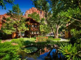 Flanigan`s Inn, hôtel à Springdale près de: Zion National Park