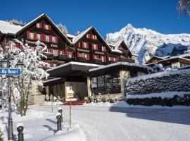 Romantik Hotel Schweizerhof, hotel in Grindelwald