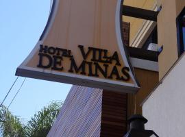 Hotel Villa De Minas, hotel em Monte Sião