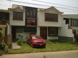 Familia Tome, apartment in Chaclacayo