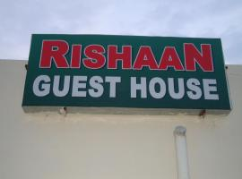 Rishaan Guest House, hotel in Puri