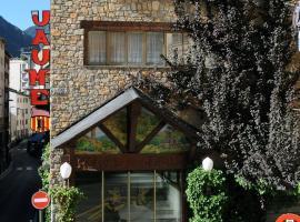 Hotel Jaume I, hotel en Andorra la Vella