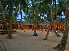 Thejan Beach Cabanas, отель в Бентоте