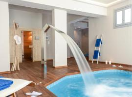 Hotel Grotta, отель в Наксосе